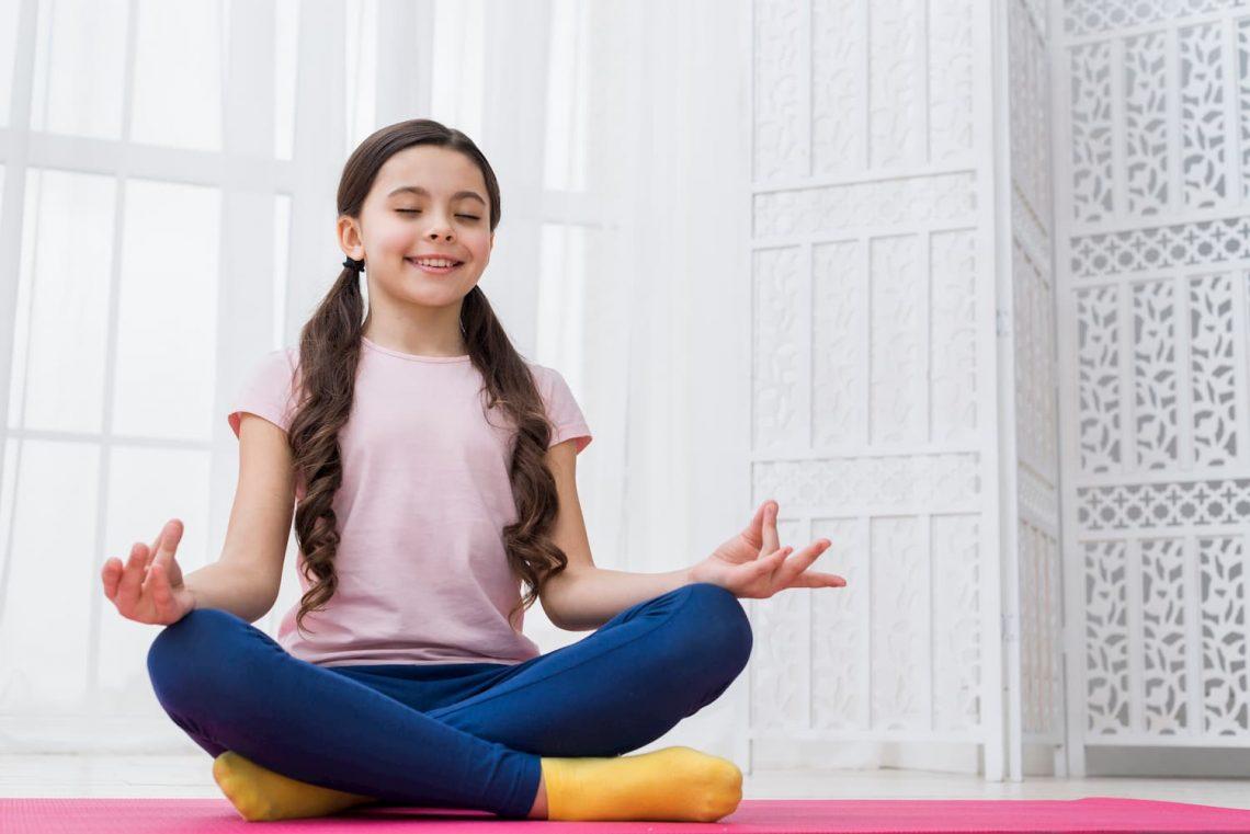 Los niños y el Yoga
